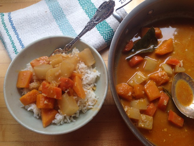 red curry rutabaga winter squash