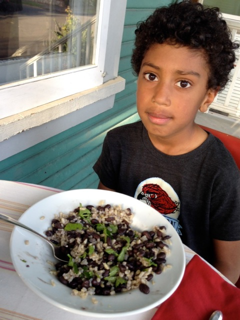 black beans rice Ellis