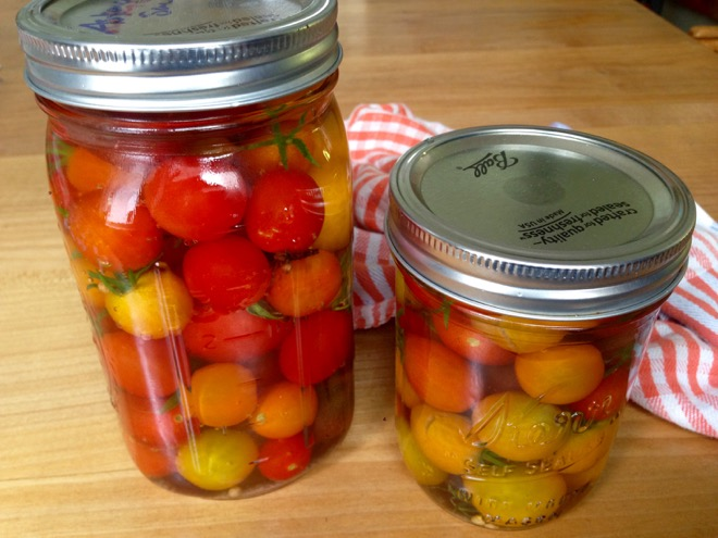 tomatoes in vinegar