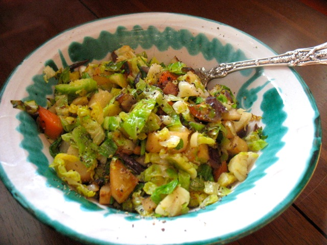 brusssels sprout hash