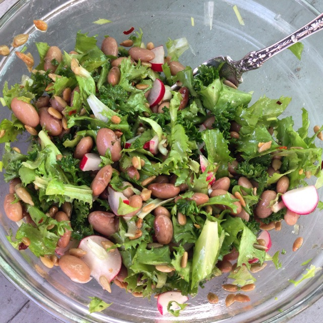 beans and greens cwwyh salad