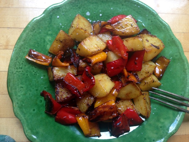 Calabrian peppers potatoes II