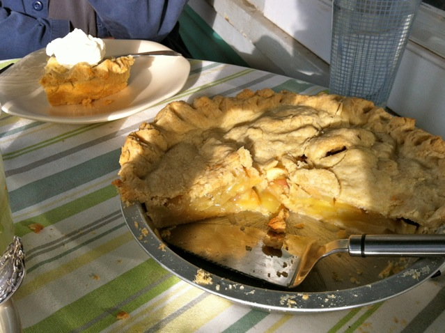 apple pie front porch
